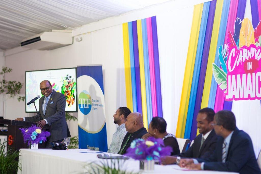 Jamaica Tourism Minister calls for greater investment in Jamaica's Carnival