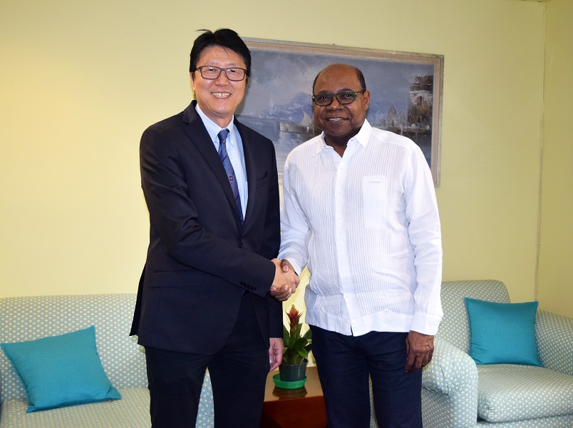 Jamaica's Ambassador to China pays courtesy call on Minister Bartlett