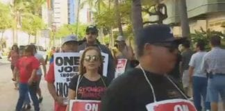 Marriott strike