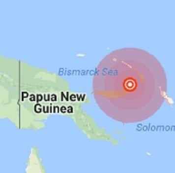 Strong 7.0 quake hits Papua New Guinea
