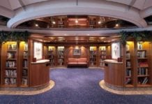 Royal Caribbean cruise ship library