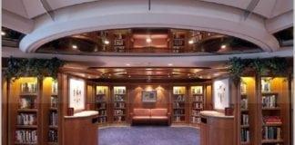 Royal Caribbean cruise ship library