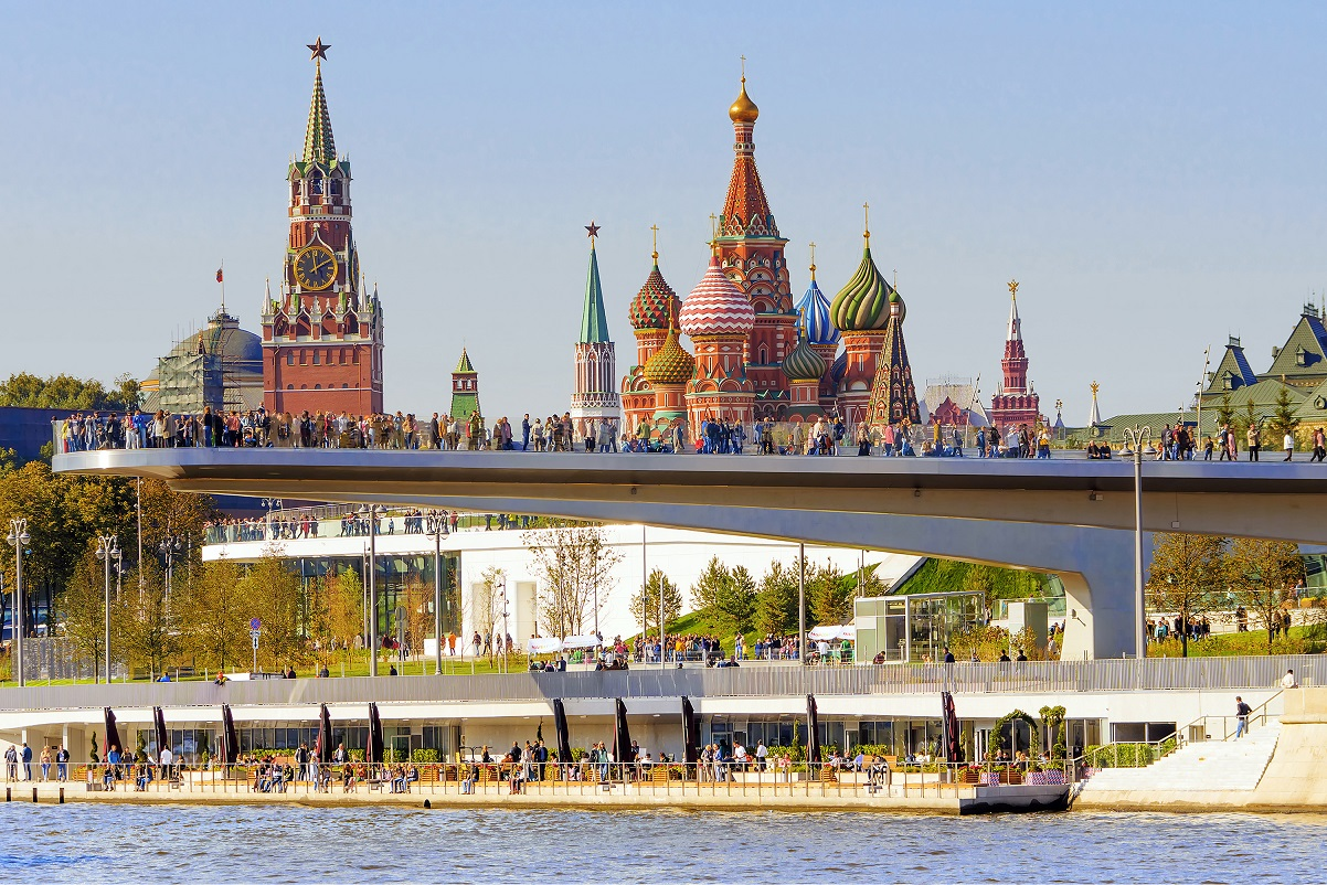 A record number of French tourists visited Moscow