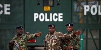 Kenya police hold sex worker