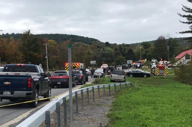 20 dead at New York tourist spot after horrific limo crash