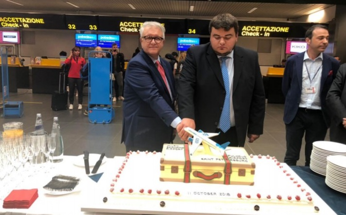 St. Petersburg, Pobeda launches Milan Bergamo to St. Petersburg link, Buzz travel | eTurboNews |Travel News