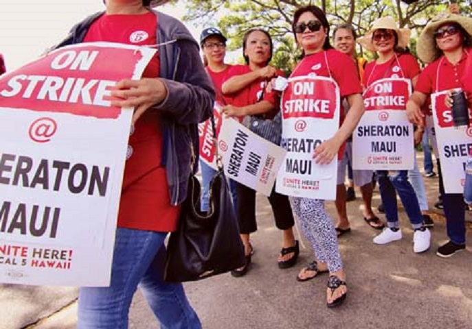 , Unfair labor practice charge filed against Sheraton Maui for banning its employees, Buzz travel | eTurboNews |Travel News