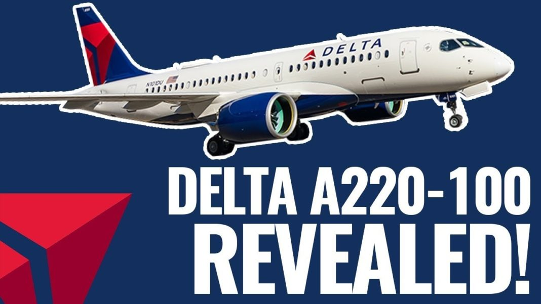 Delta's new A220 brings elements of international travel experience to domestic routes