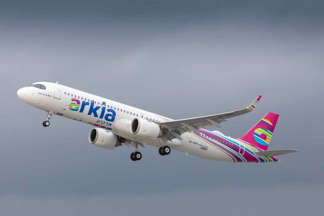 Arkia Israeli Airlines takes delivery of world's first Airbus A321LR