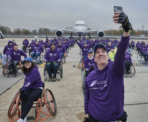 Heathrow smashes world record for a disability cause