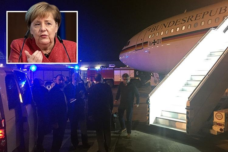 Electronics Failure Grounds German Chancellor Merkel's A340 En Route to G20
