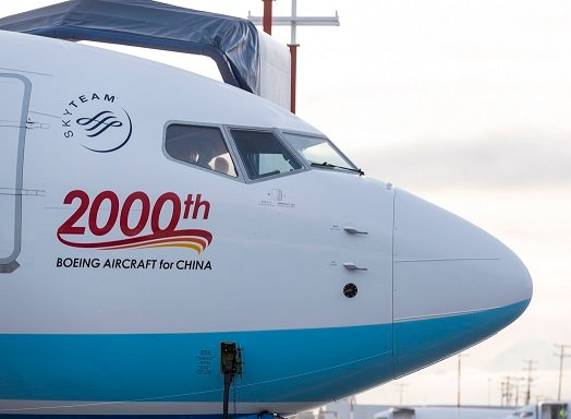 , Boeing delivers its 2,000th airplane to China, Buzz travel | eTurboNews |Travel News