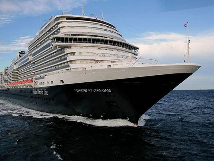 Holland America Line takes delivery of Nieuw Statendam cruise ship