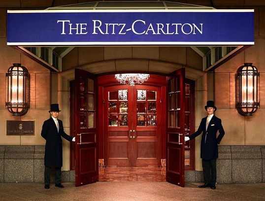 Ritz-Carlton named the most luxurious hotel brand in the world
