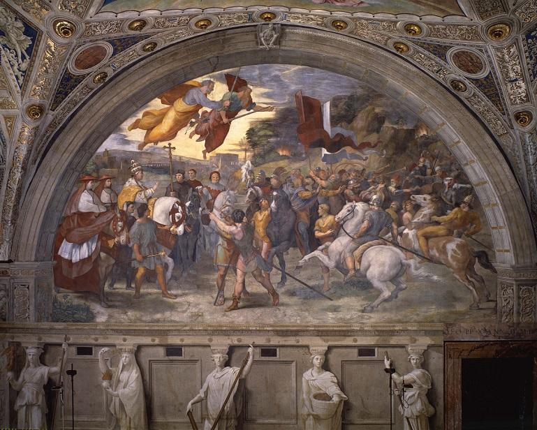 The Vatican Museum unveils Raphael's Rooms