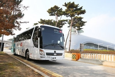 Self-driving bus successfully tested at Seoul's Incheon International Airport
