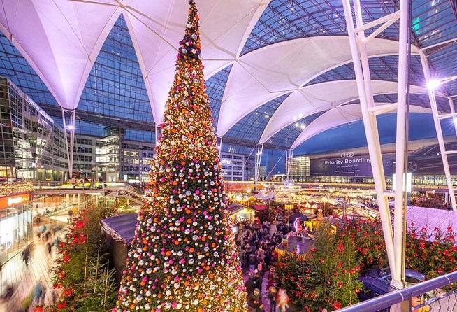 Christmas and Winter Market at Munich Airport celebrates big anniversary