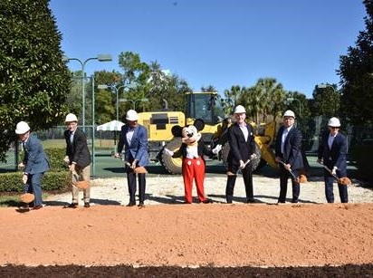 Walt Disney World Swan And Dolphin Resort Breaks Ground On New Tower