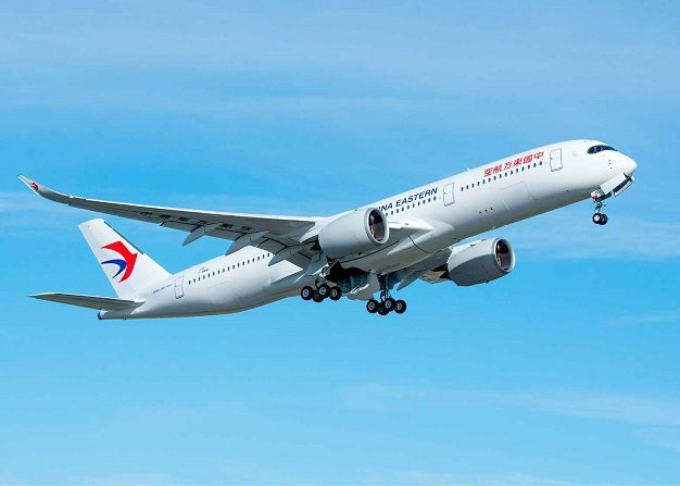 China Eastern Airlines takes delivery of its first Airbus A350-900