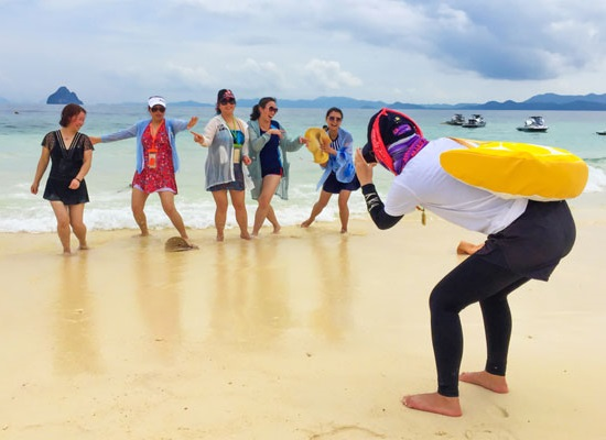 """Elevating """"island experience"""" among Chinese tourists"""