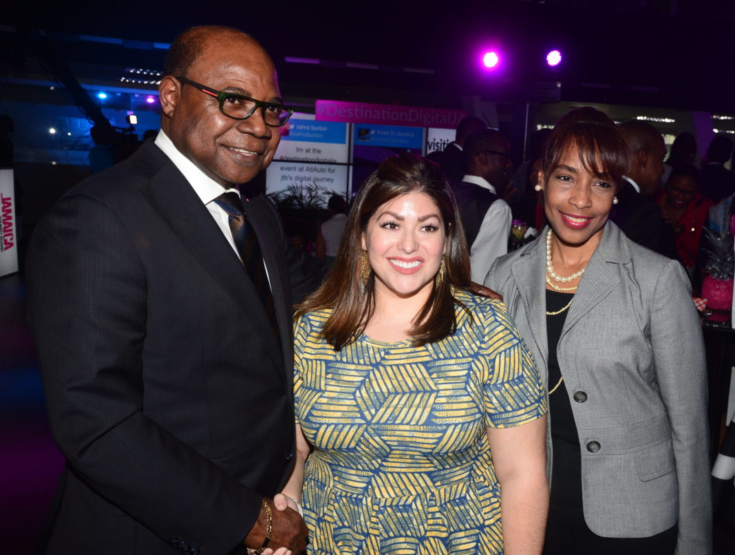 New Jamaica Tourism Board Website launched by Hon. Minister Edmund Bartlett