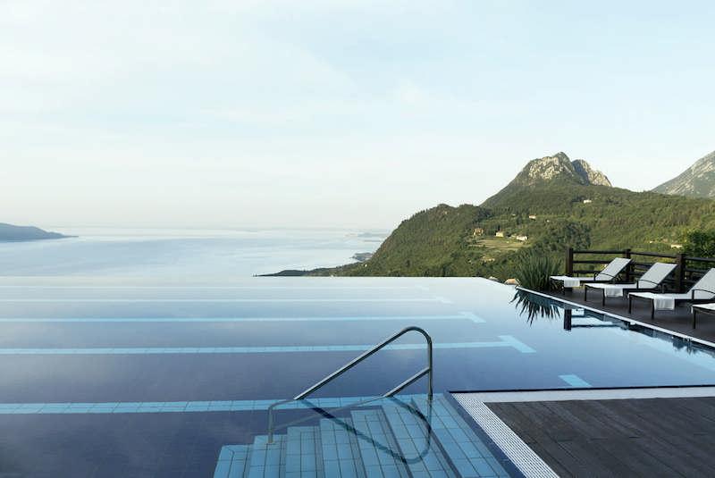 Italian Gold illuminated at Lefay Resort & SPA Lago di Garda