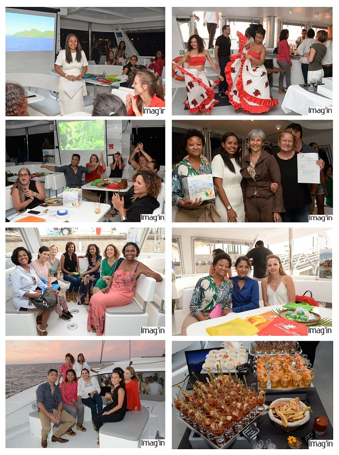 Seychelles Tourism Board organizes cruise in Reunion