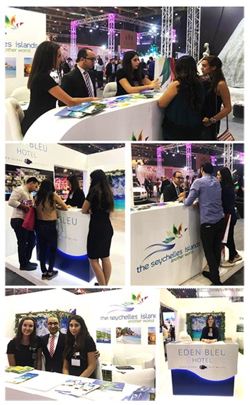 """Seychelles Tourism Board Office in Dubai appears in """"The Royal Wedding"""" in Beirut"""