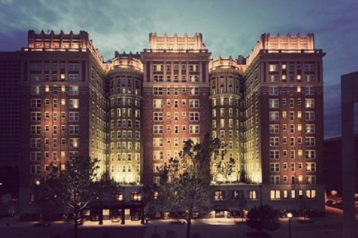 Oklahoma City's The Skirvin Hilton hotel through the years