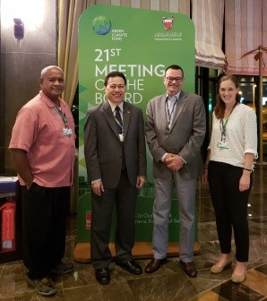 Seychelles Ambassador nominated to Board of world's largest climate fund