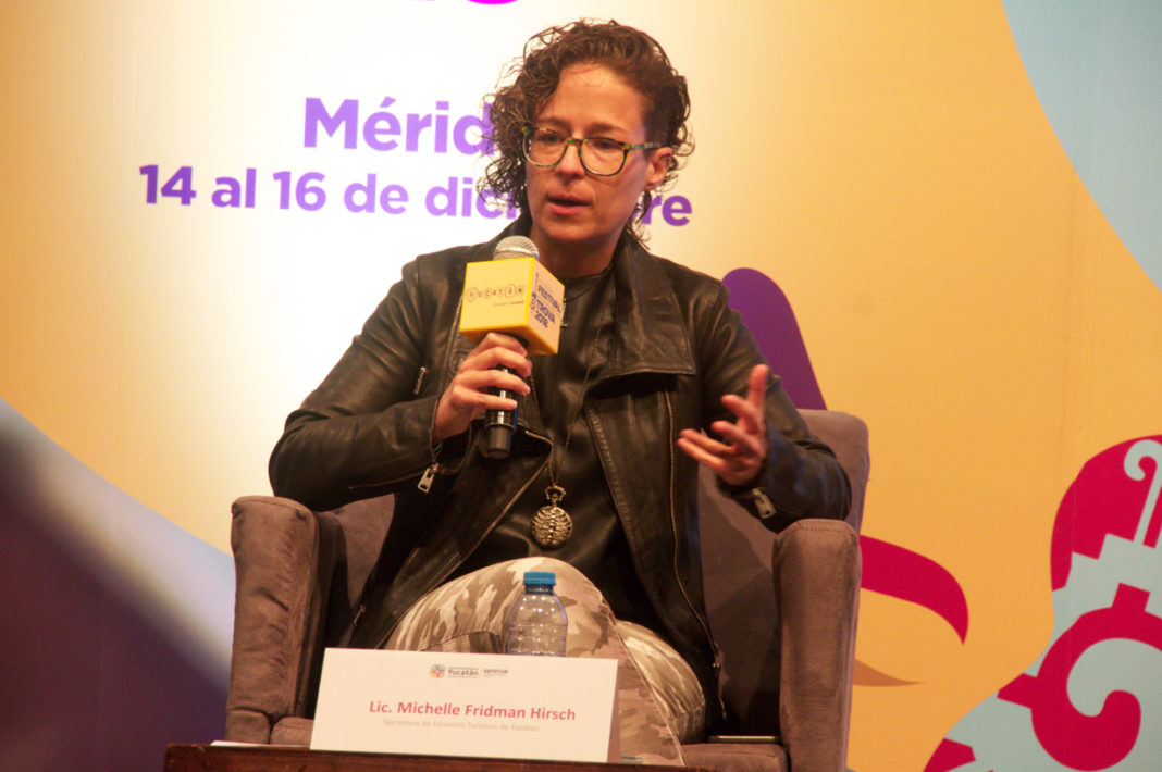 Yucatan Tourism Minister Michelle Fridman Hirsch: We won !