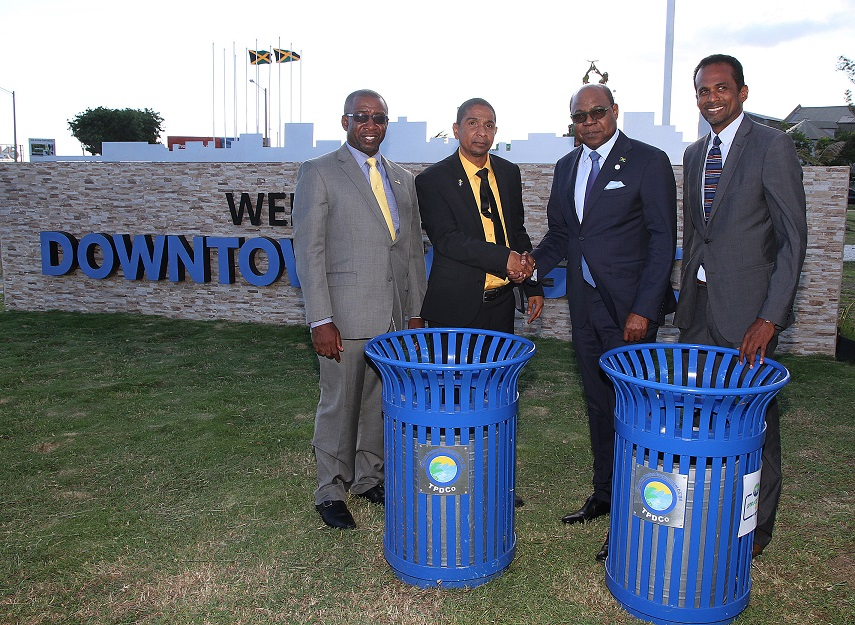 Jamaica spends $35 million for Spruce Up garbage disposal bin project