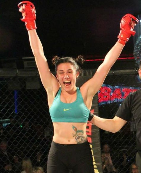 Maltese MMA fighter Marilyn Micallef first ever for Malta in top-ranked MMA Competition
