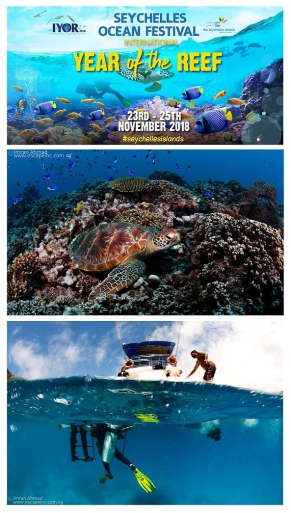 "Seychelles Ocean Festival to celebrate international ""Year of the Reef"""
