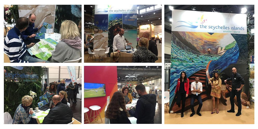 Tourism Fair in Central Germany crowns another bumper year for Seychelles