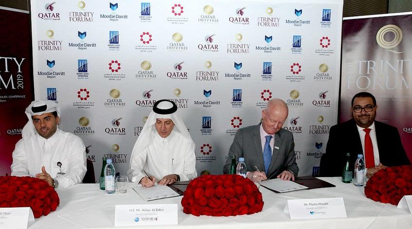 Hamad International Airport, Qatar Airways and QDF to host 2019 Trinity Forum