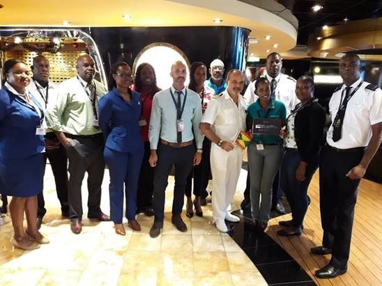 , Team Grenada welcomes two new cruise ships on the same day, Buzz travel | eTurboNews |Travel News