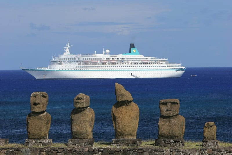 Sacred places: Many spiritual sites can be visited via cruise ship