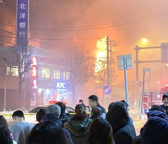 Dozens injured in Sapporo restaurant explosion