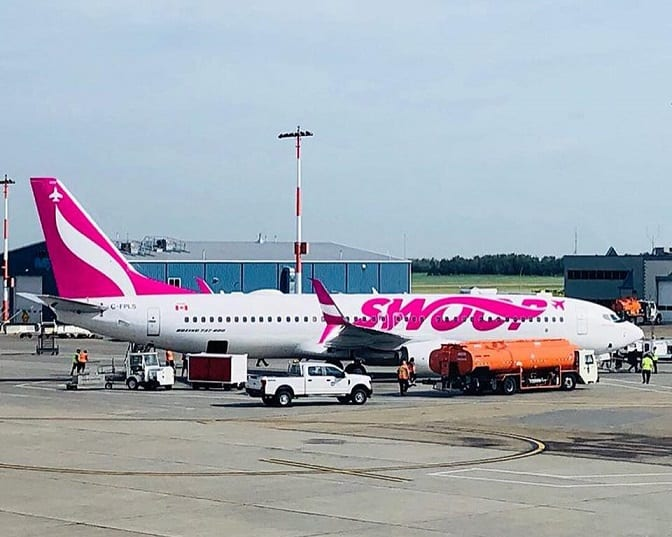 Montego Bay welcomes Swoop's inaugural flight from Hamilton