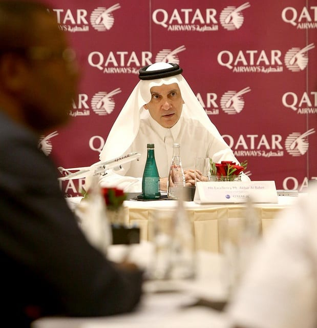 Qatar Airways CEO:  Airline has rapid expansion plans