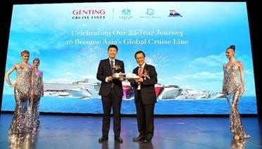 , Cruise line celebrates Silver Anniversary in Singapore, Buzz travel | eTurboNews |Travel News