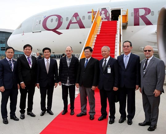 Qatar Airways flies to Da Nang, Vietnam