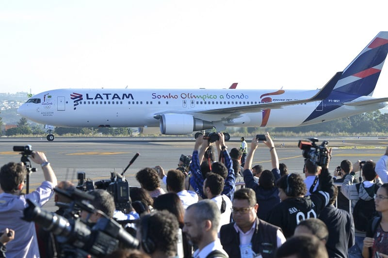LATAM inaugurates only direct route between Latin America and Israel