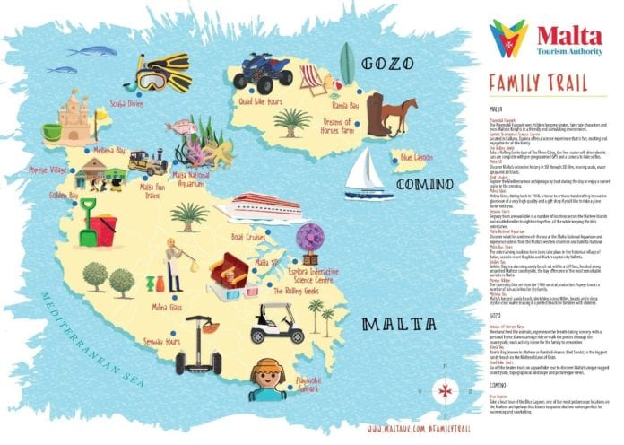 , Malta Tourism Authority launches new Family Trail, For Immediate Release | Official News Wire for the Travel Industry, For Immediate Release | Official News Wire for the Travel Industry