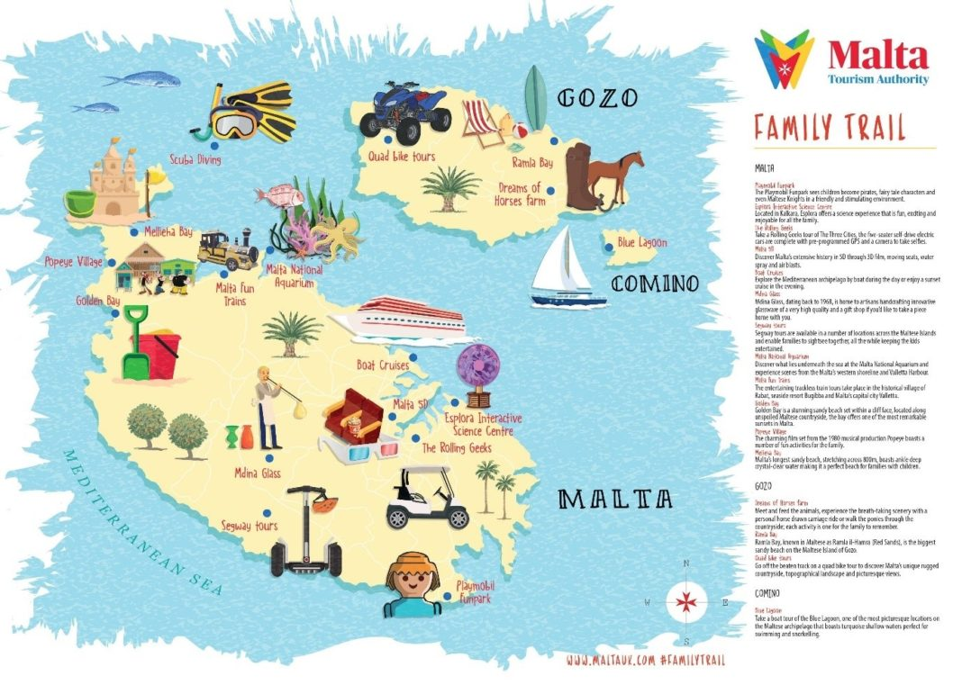 Malta Tourism Authority launches new Family Trail