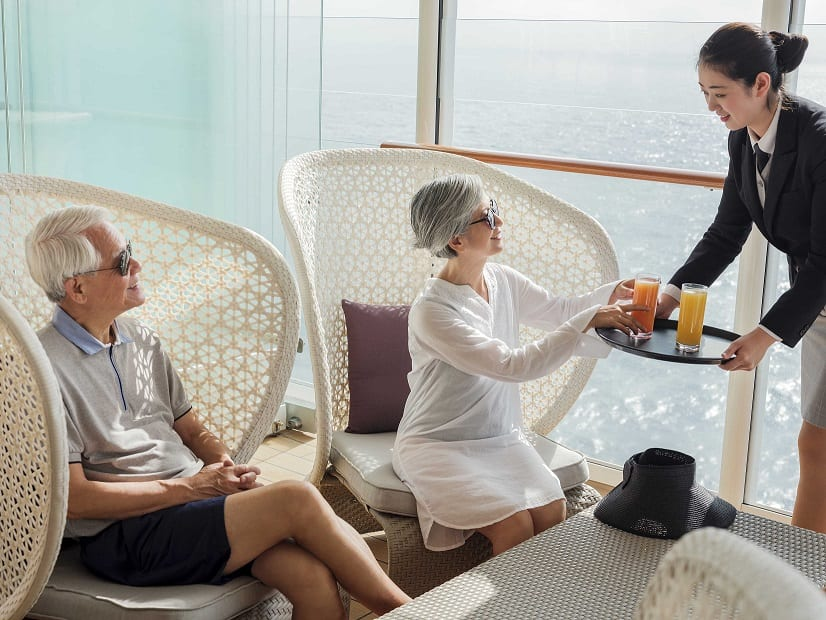 """, 'The Palace' – first Asian all-inclusive """"luxury cruise ship within a megaship"""", Buzz travel 