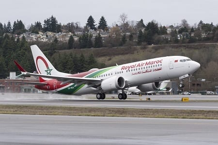 Royal Air Maroc welcomes its first Boeing 737 MAX jet