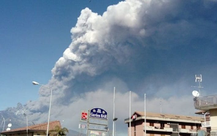 Air traffic at Catania airport suspended after Mount Etna volcano eruption