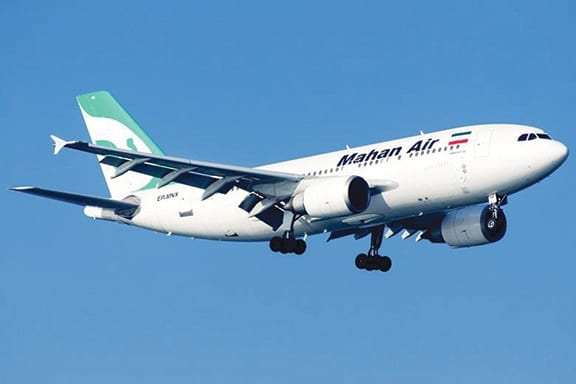Iran: 'No documented proof' of Mahan Air ban by Germany